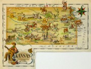 Pictorial Map - Kansas, 1946-main-6276K