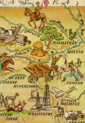 Pictorial Map - Kansas, 1946-detail-6276K
