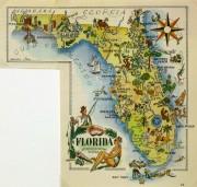 Pictorial Map - Florida, 1946-main-6283K