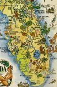 Pictorial Map - Florida, 1946-detail-6283K