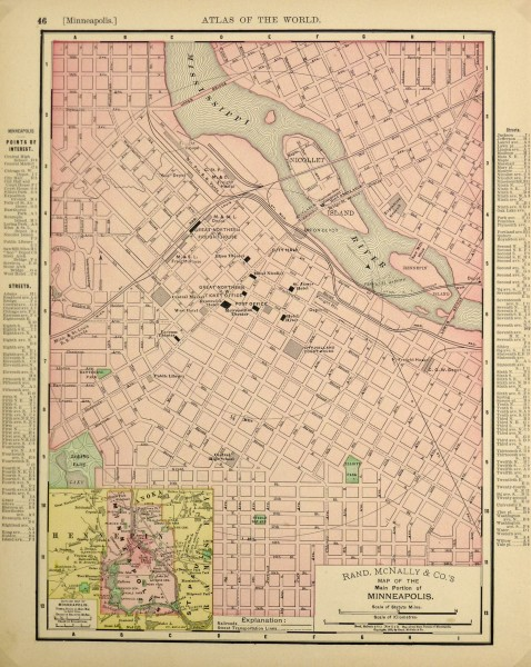 Minneapolis Map, 1895-main-6437K