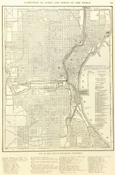 Milwaukee map-main-6542K