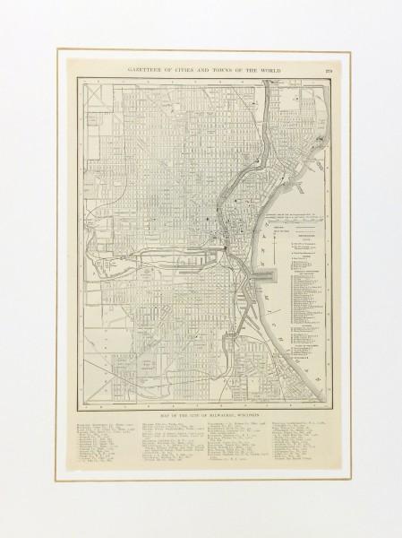 Milwaukee map-matted-6542K