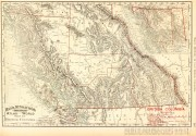 British Columbia, Canada Map, 1895-main-6587K