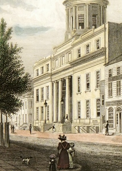NYC Merchants' Exchange, 1830-detail-7418K