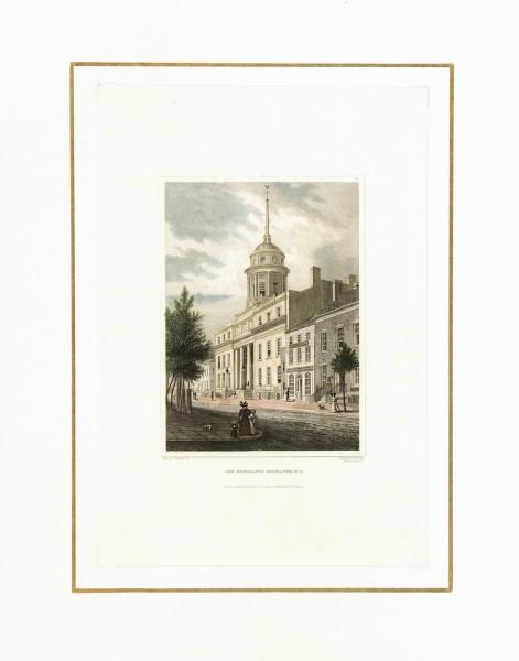 NYC Merchants' Exchange, 1830-matted-7418K