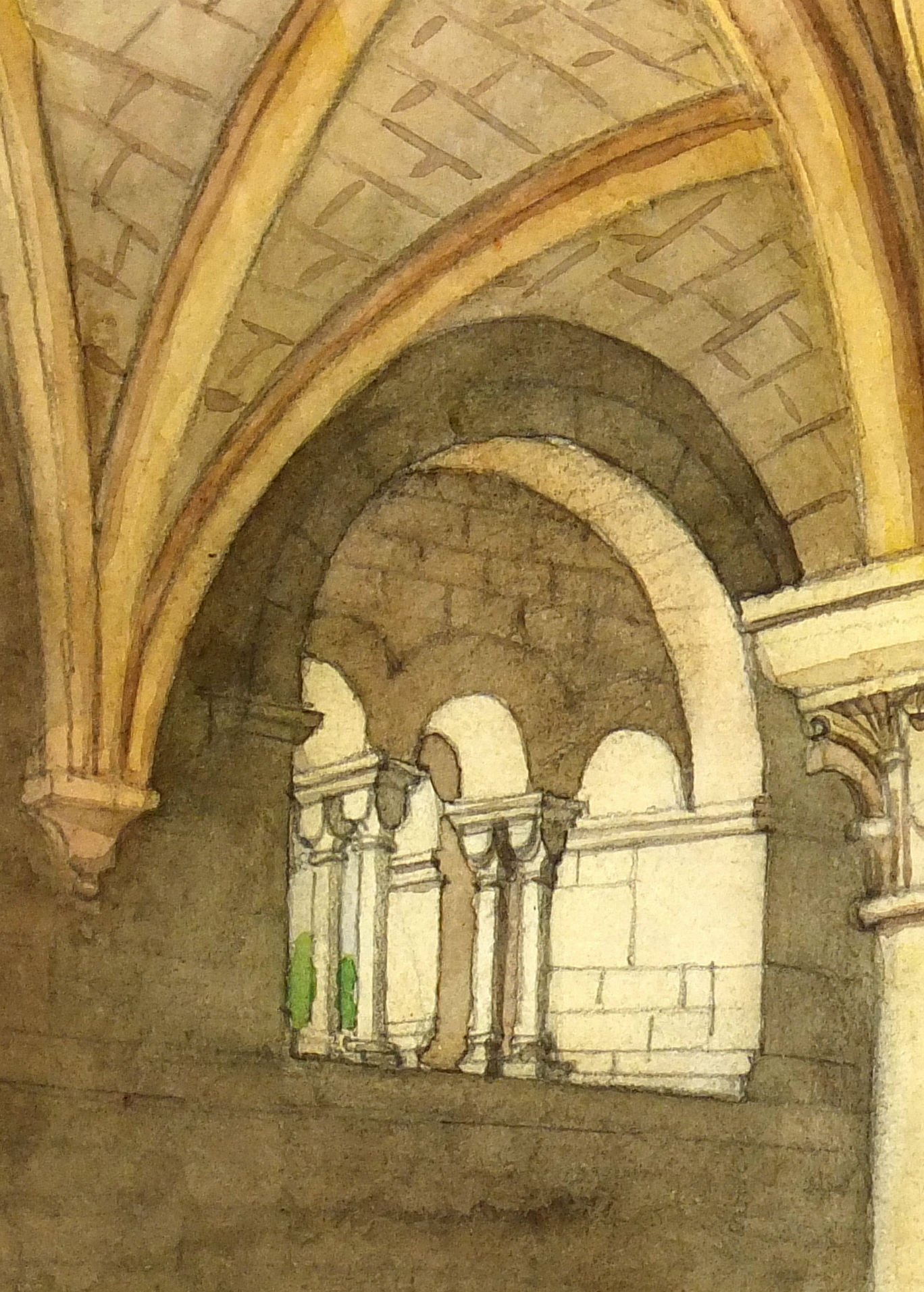 Watercolor - Vaulted Ceiling-detail-7468K