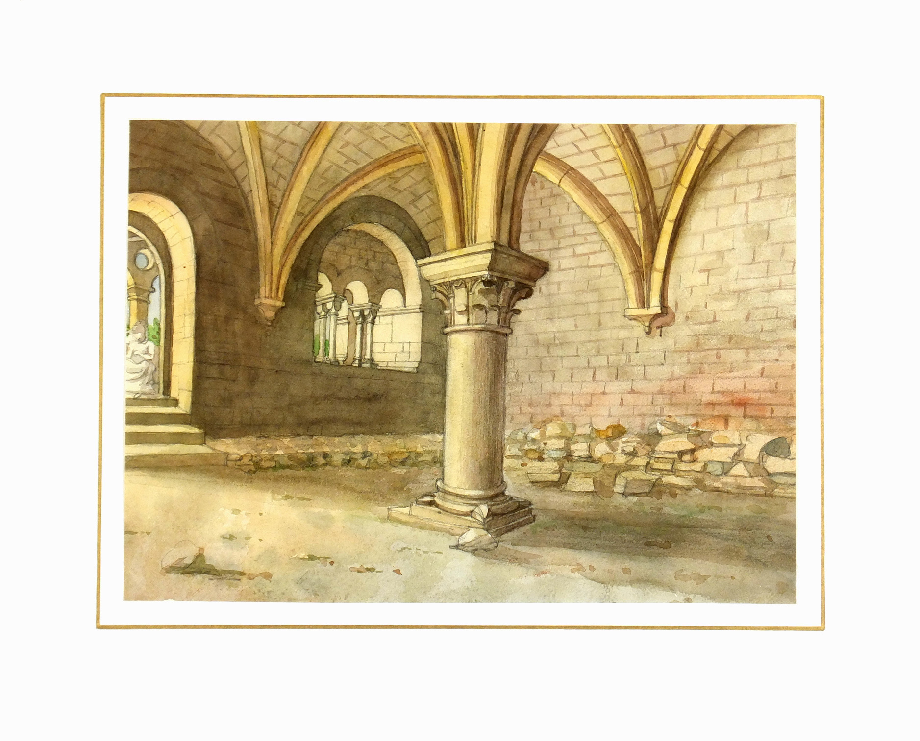 Watercolor - Vaulted Ceiling-matted-7468K