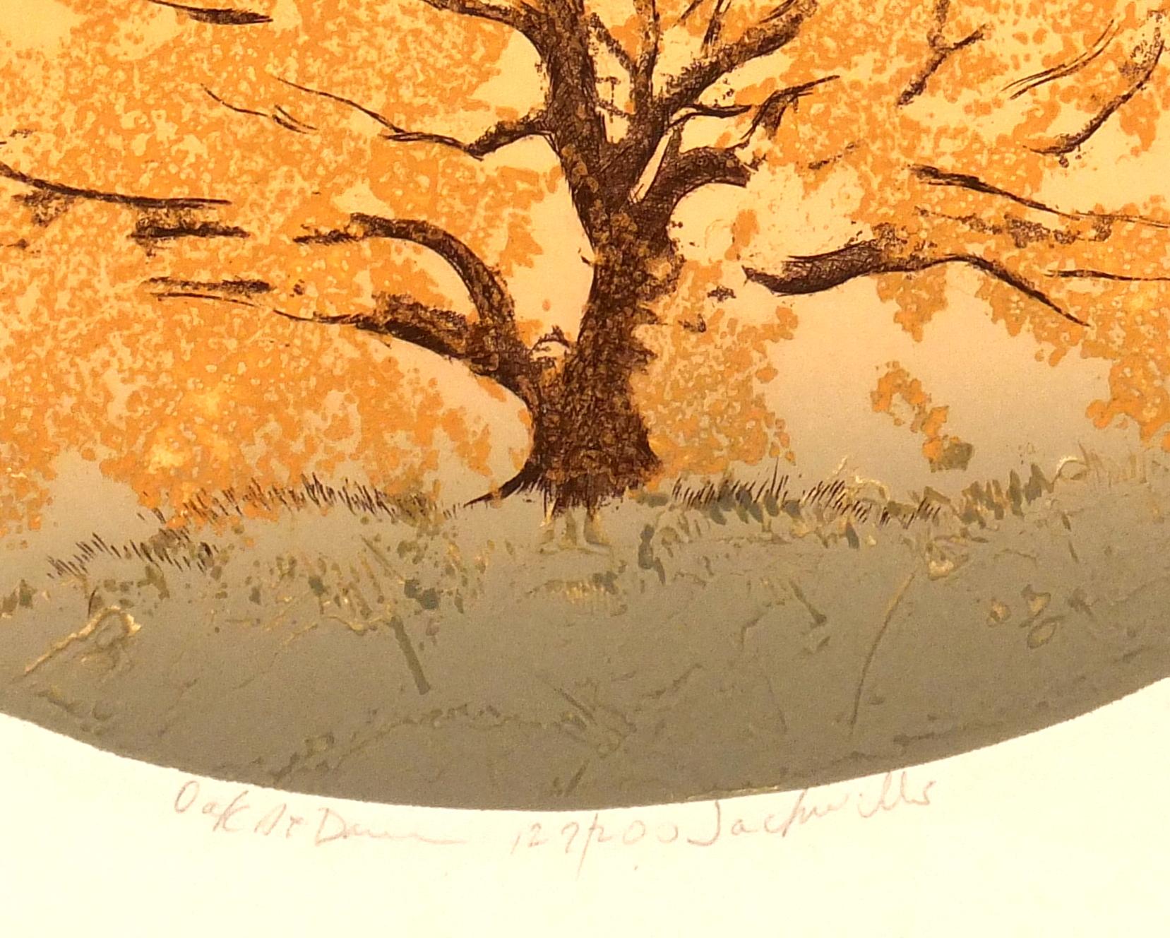 Oak at Dawn, Circa 1980-detail 2-7491K