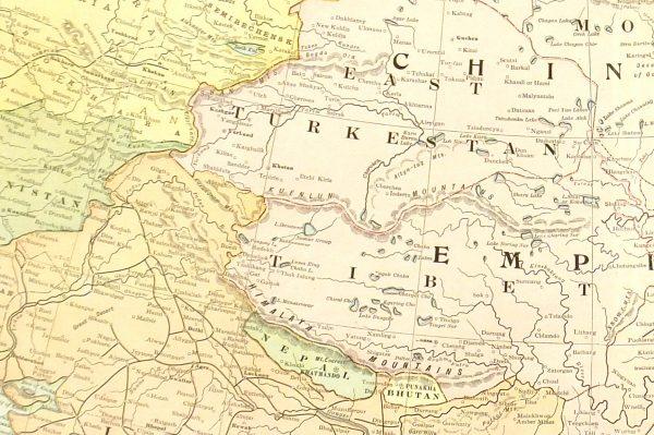 Chinese Empire, 1901-detail-7620K