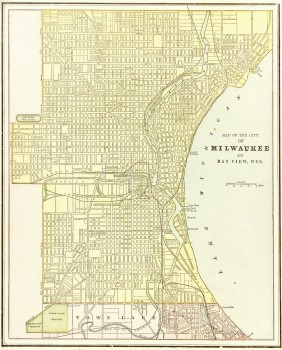 Milwaukee Map,1889-main-7648K