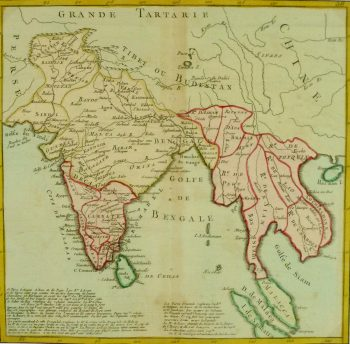 Map - India & Southeast Asia, 1767-main-8120K
