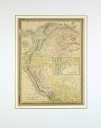 Northern South America, 1890-matted-8196K
