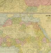 Africa and North Africa Map, 1890-detail-8205K