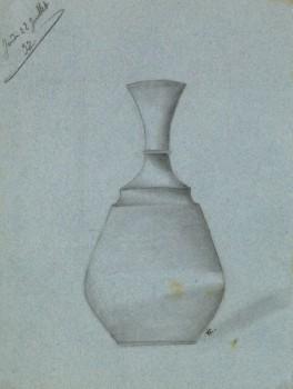 Drawing - Blue Vase, 1897-main-8225K