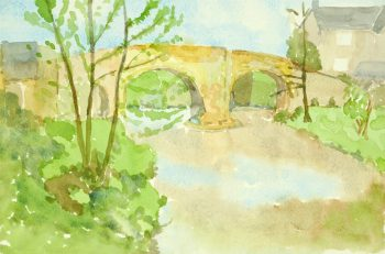 Watercolor - Avon Bridge-main-8502K
