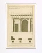 Doric Order Engraving, 1780-matted-8519K
