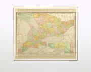 Ontario, Canada Map, 1895-matted-8556K