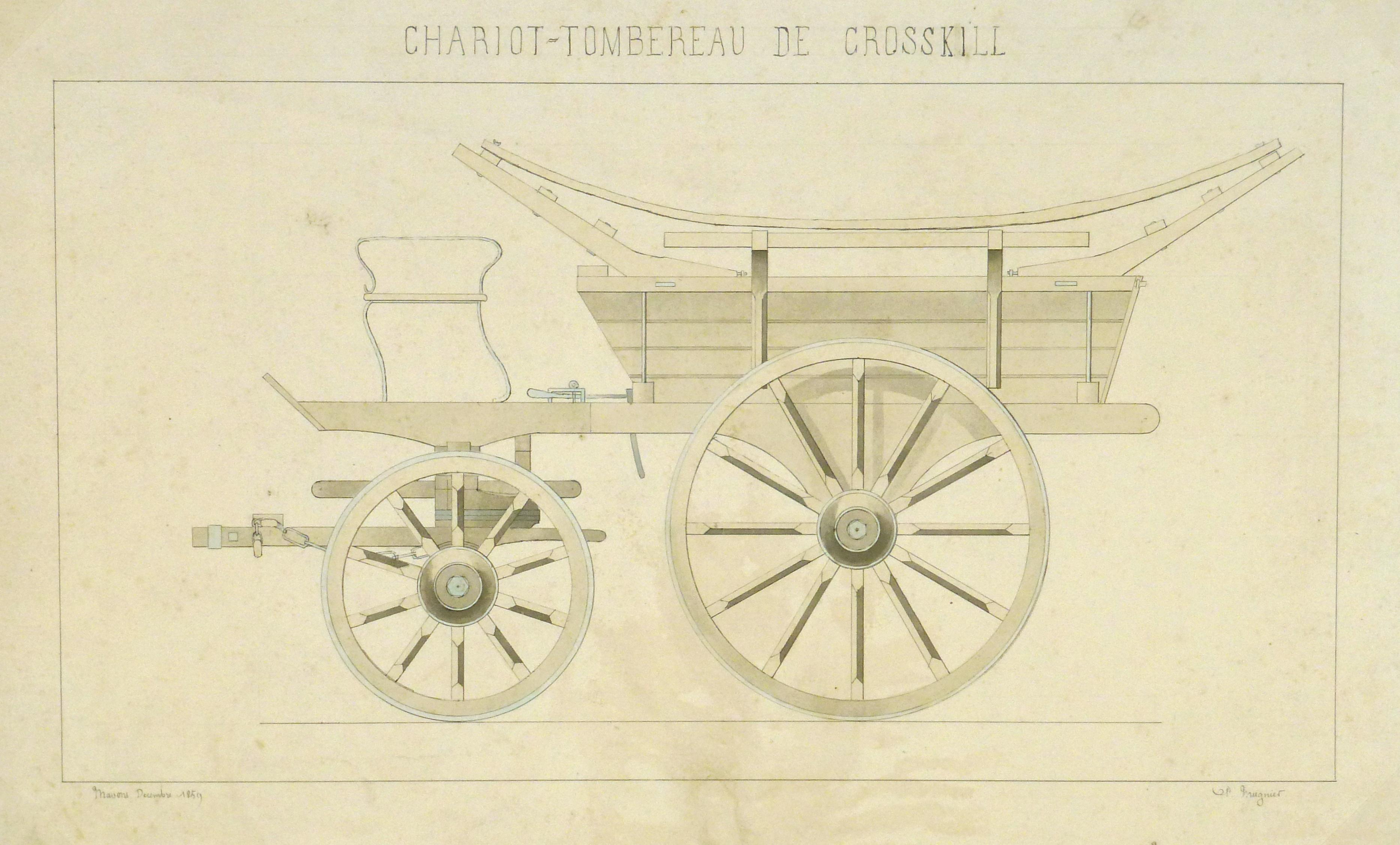 Cart Drawing , 1859-main-8869K