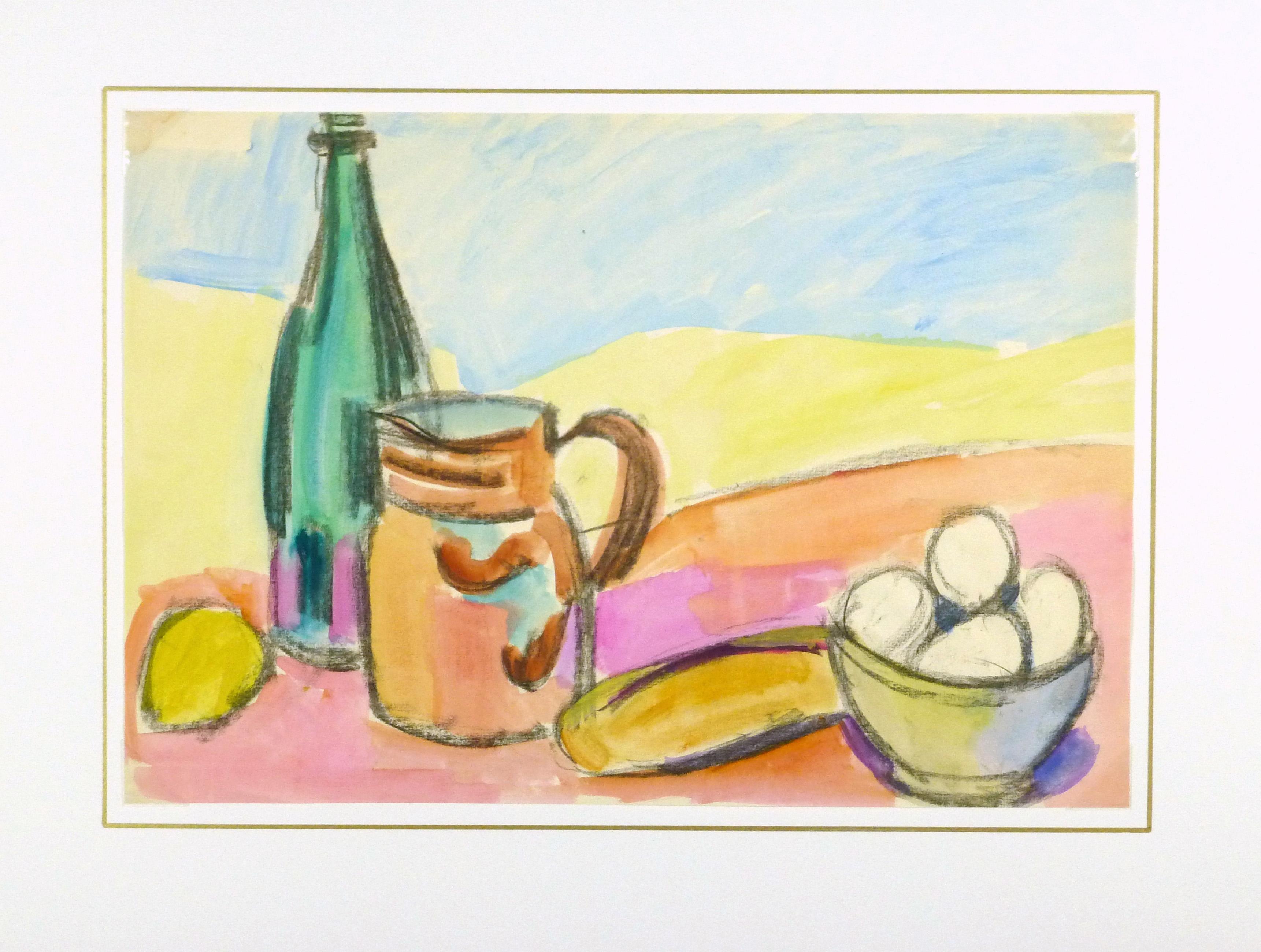 Pantry Still Life, Circa 1960-matted-8940K