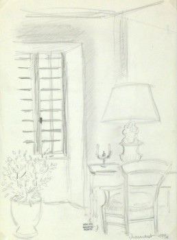 Drawing - Parisian Study-main-8969K