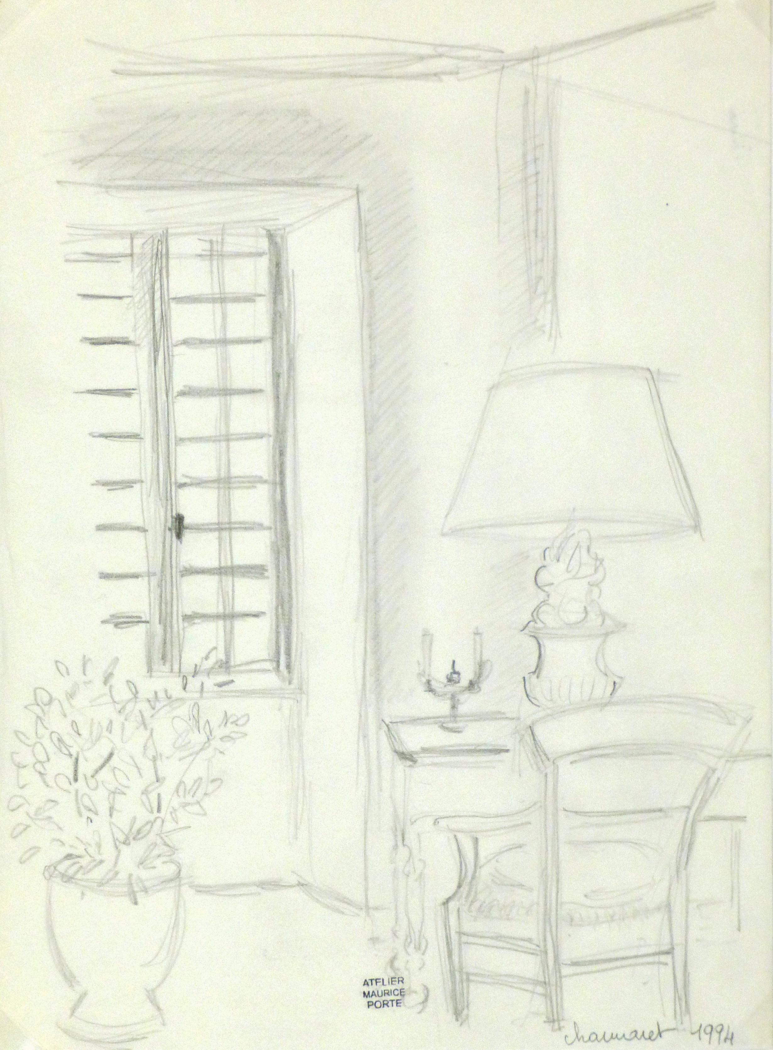 Drawing - Parisian Study-main-8969K
