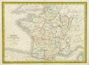 France Map, 1842-main-8983K