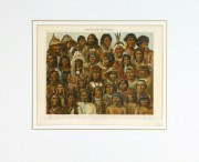 Native Americans Print, 1886-matted-9129K