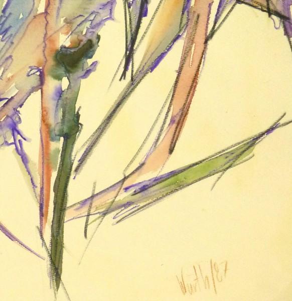Watercolor - Organic Abstract-detail 2-9133K
