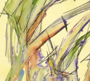 Watercolor - Organic Abstract-detail-9133K