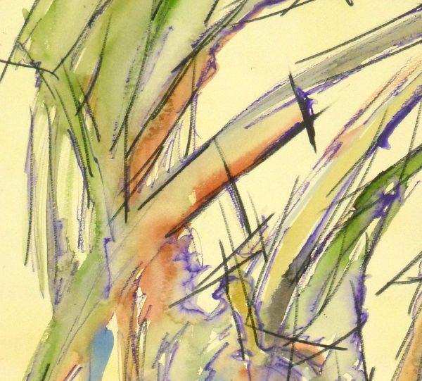 Watercolor - Organic Abstract-detail-9133K