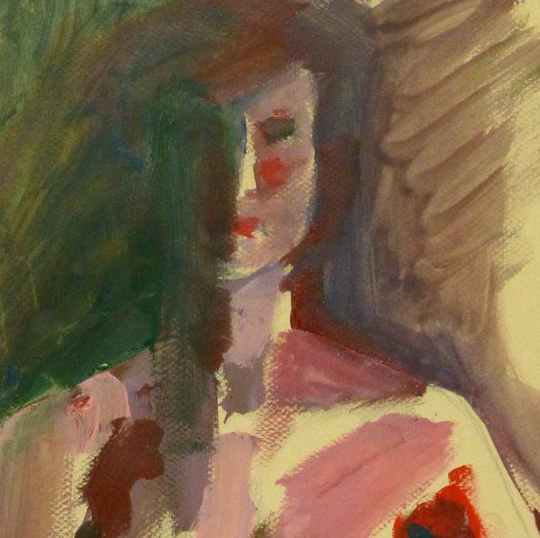 Acrylic - Modern Nude Female-detail 2-9174K