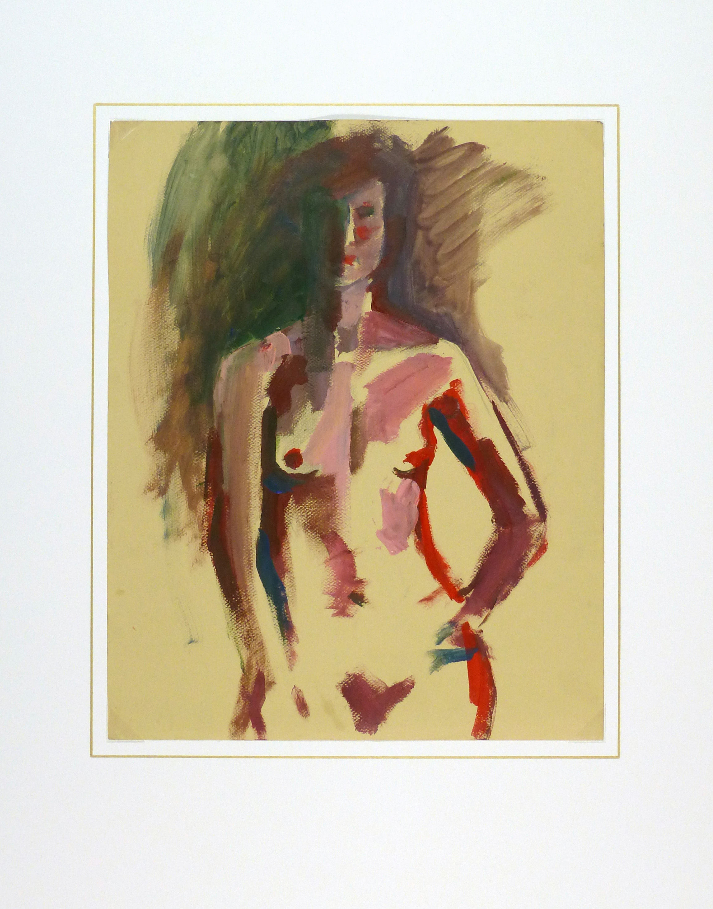 Acrylic - Modern Nude Female-matted-9174K