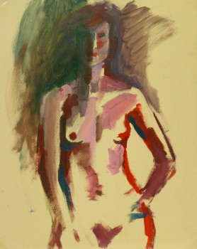 Acrylic - Modern Nude Female-main-9174K
