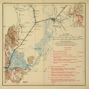 Map - Sacramento Valley, 1915-main-9225K