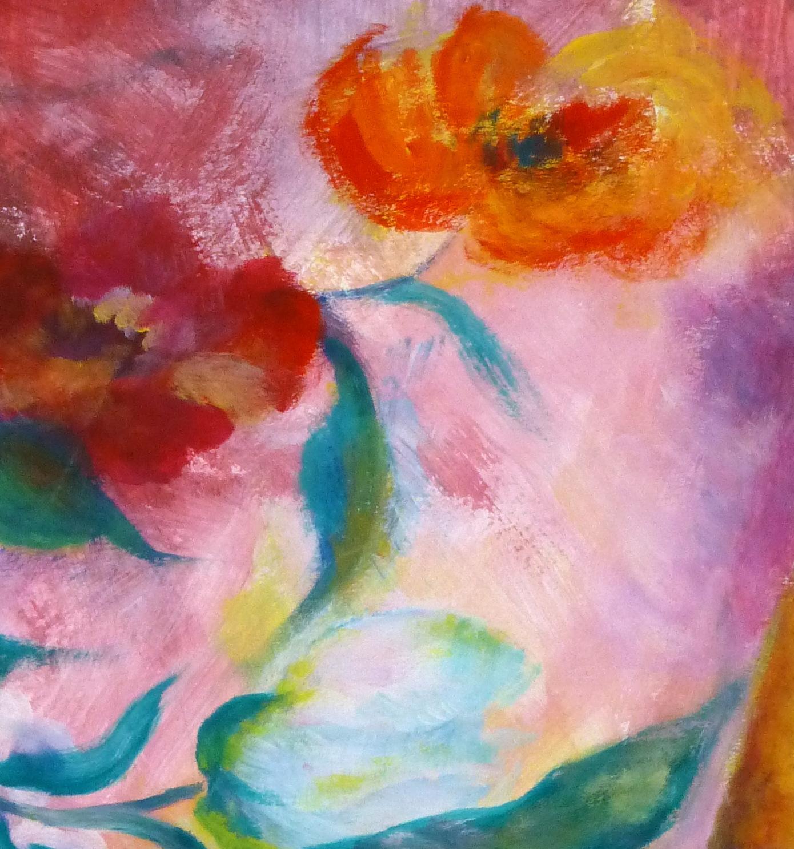 Acrylic - Artful Arrangement, Circa 1960-detail-9274K