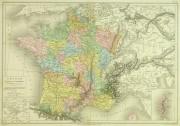 France Map, 1884-main-9378K