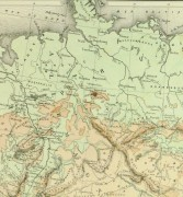 Germany & Prussia Map, 1886-detail 2-9380K