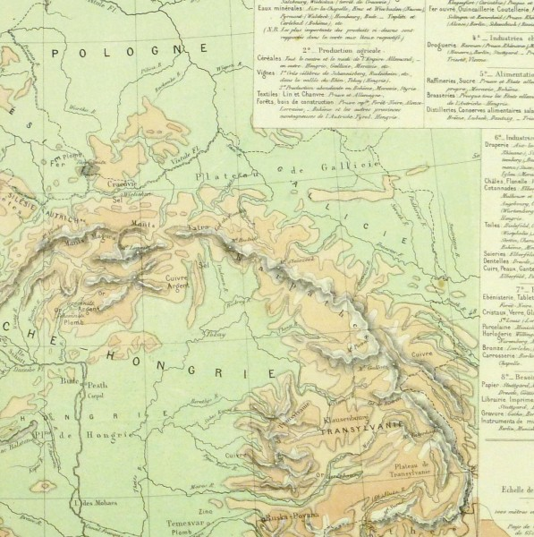 Germany & Prussia Map, 1886-detail-9380K