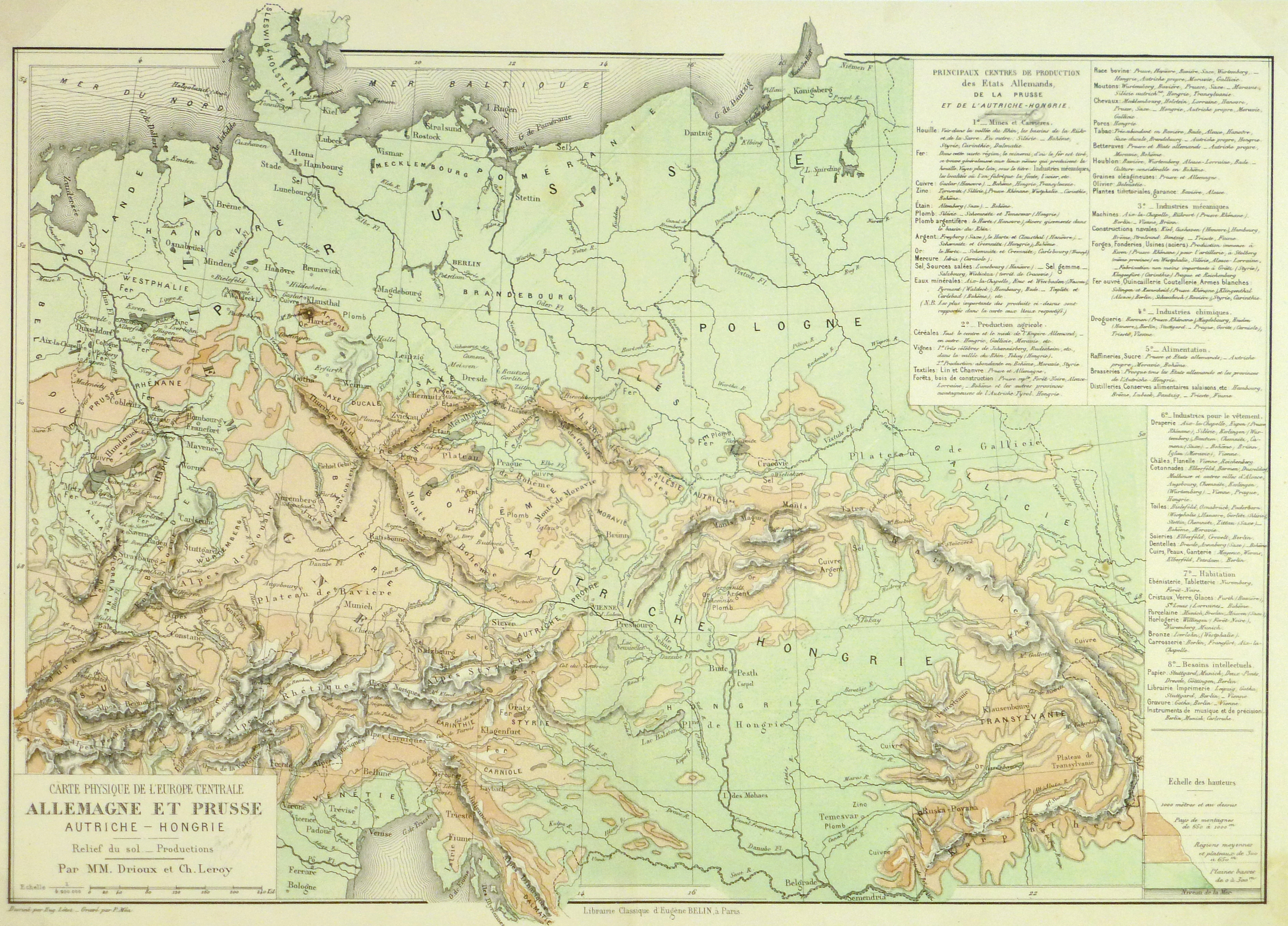 Map Of Germany Gottingen.Germany Prussia Map 1886