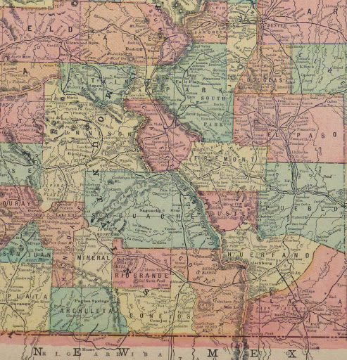 Colorado Map, 1903-detail9415K