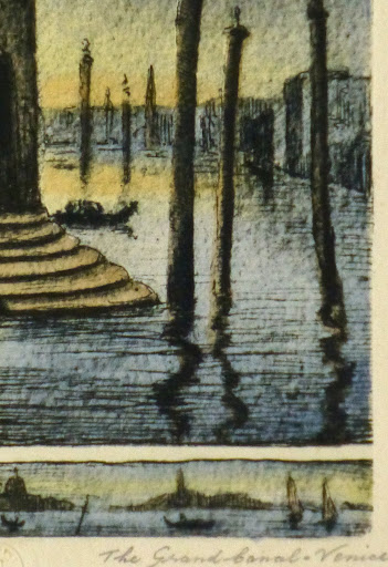 Venice Grand Canal, Circa 1895-detail-9507K