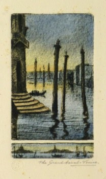 Venice Grand Canal, Circa 1895-main-9507K