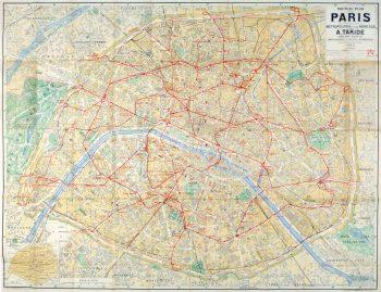 Paris Metro Map, C. 1910-main-9622K