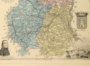 Map of France, 1876-detail-9935K