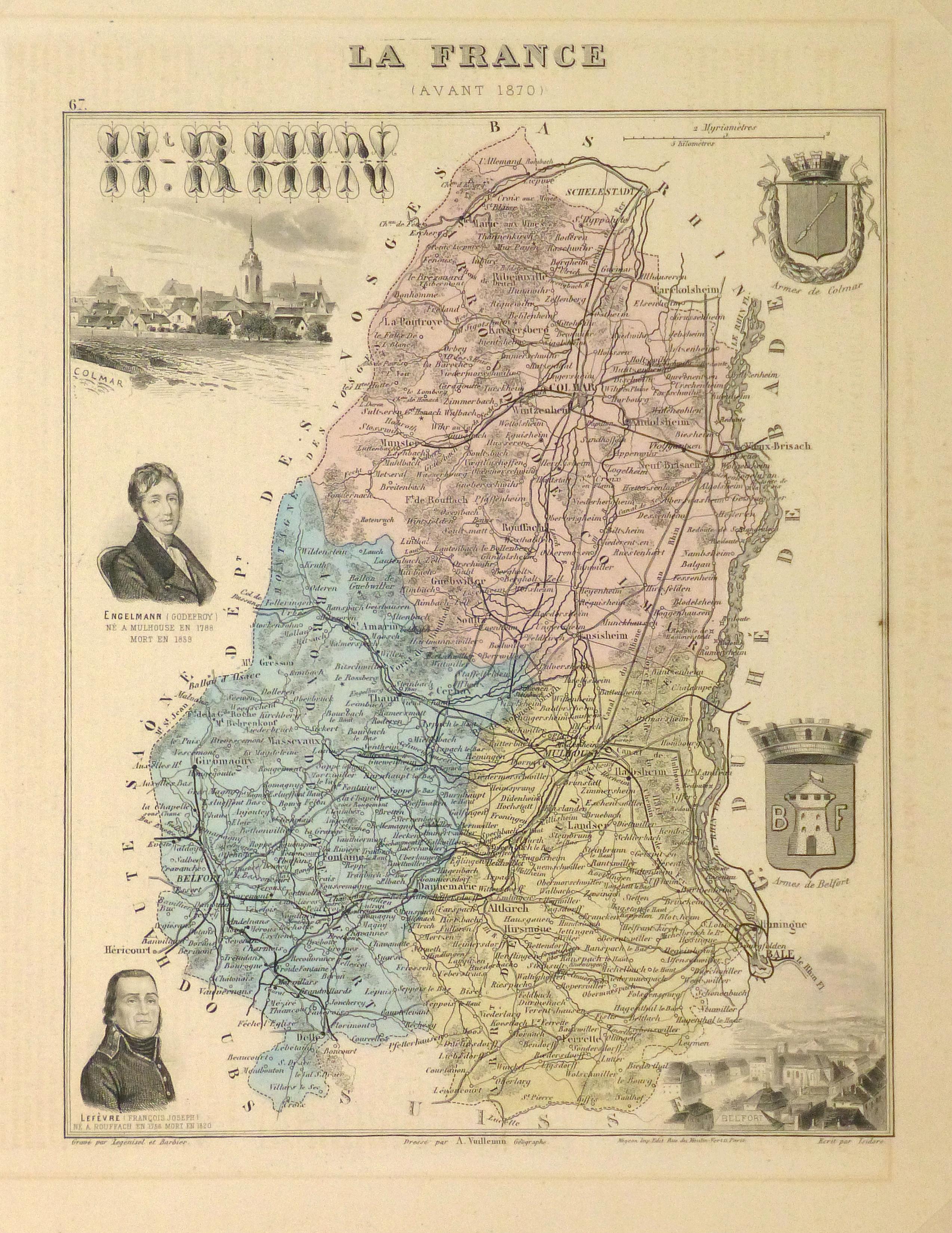 Map of France, 1876-main-9935K