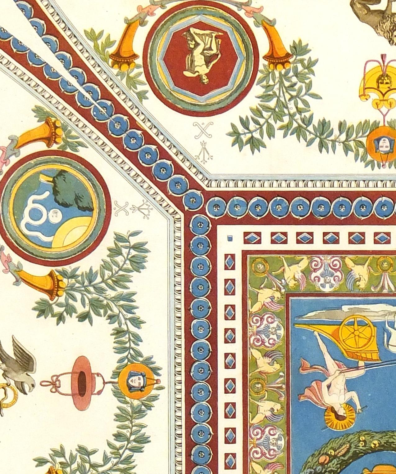 Villa Madama Rome, 1867-detail-K5122