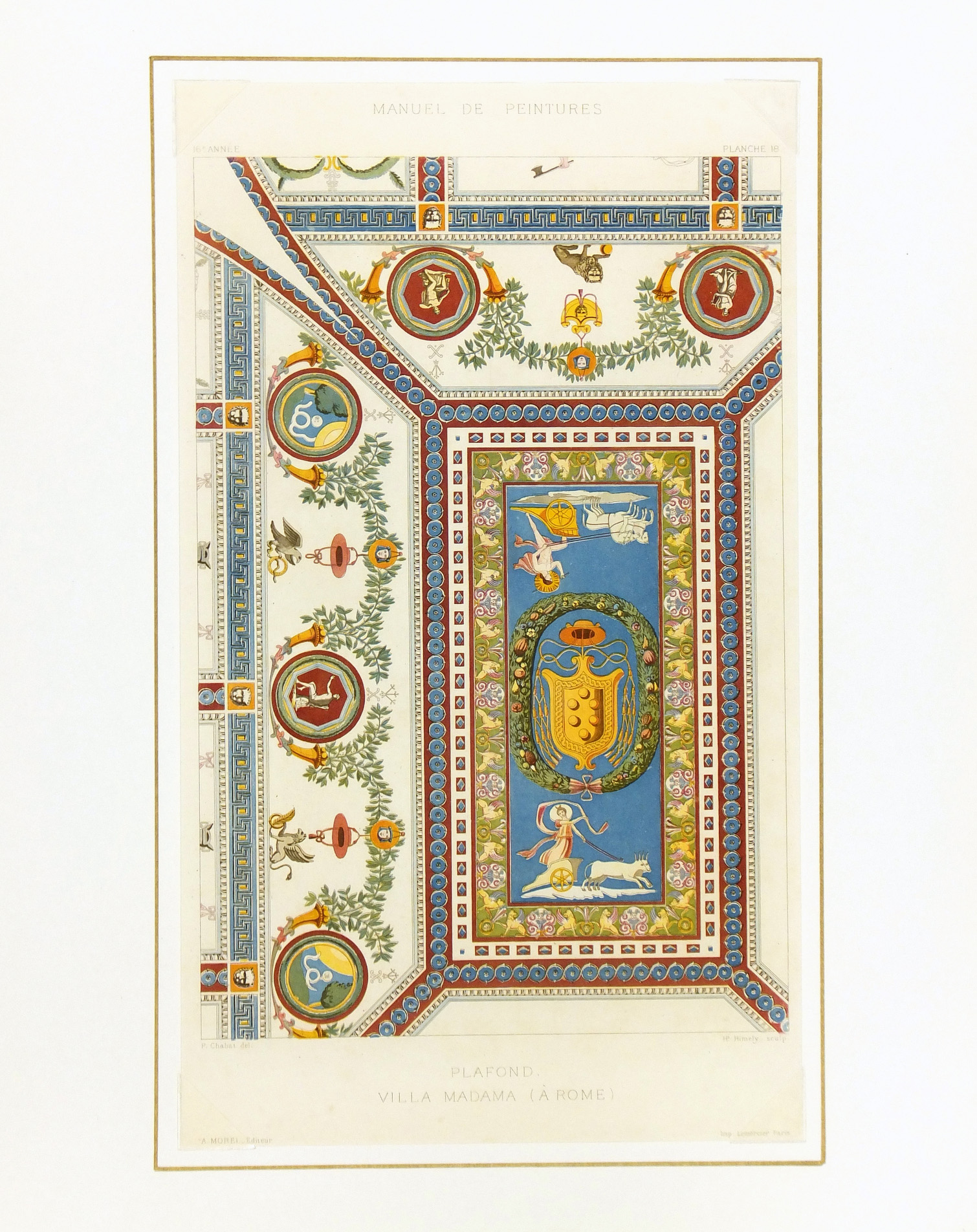 Villa Madama Rome, 1867-matted-K5122