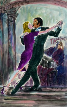 Tango Watercolor, 1987-main-KB1379