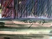 Tango Watercolor, 1987-detail-KB1379